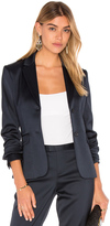 ATM Anthony Thomas Melillo Stretch Satin Blazer