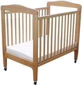 L.A. Baby Window Crib with Dual Clear View, Natural