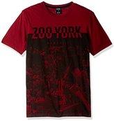 Zoo York Men's Short Sleeve City Breaker Crew Knit Shirt