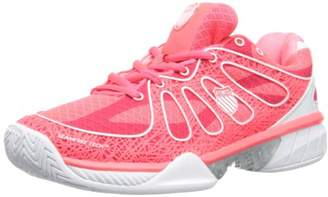 K-Swiss Performance Women's KS TFW ULTRA-EXPRESS-NEON RED/WHITE Tennis Shoes Multicolour Size: 6 UK