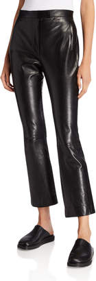 The Row Jonelle Leather Pants