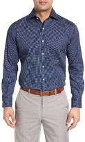 Peter Millar Men's What Goes Up Print Sport Shirt