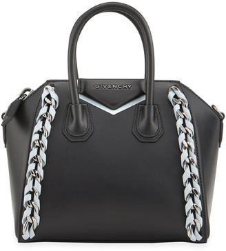 Givenchy Antigona Calfskin Chain Weave Satchel Bag