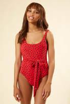 Sincerely Jules Billabong X Billabong x Rio Rain One Piece Swimsuit Red Multi M