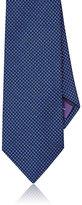 Ralph Lauren Purple Label Men's Square-Pattern Necktie-BLUE