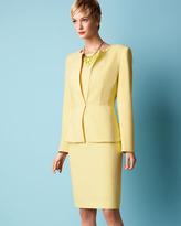 Albert Nipon Peplum-Jacket & Sheath Dress