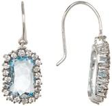 Suzanne Kalan 14K Gold Stone Dangle Earrings