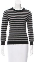 Alice + Olivia Striped Crew Neck Sweater