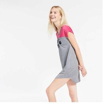 Joe Fresh Women's High-Low Hem Chemise, Pink (Size XS)
