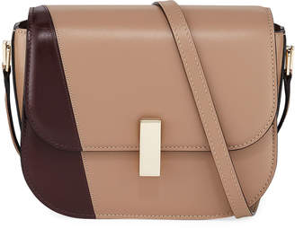 Valextra Iside Colorblock Leather Crossbody Bag