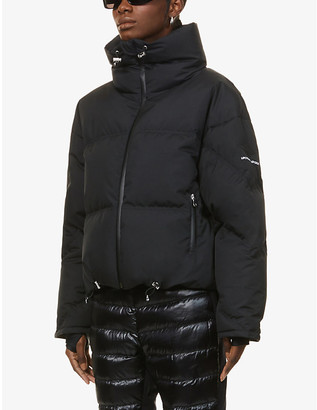 Cordova Mont Blanc funnel-neck shell-down jacket