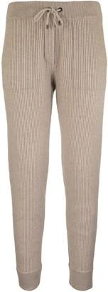 Brunello Cucinelli Ribbed Cashmere Sweatpants