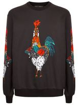Dolce & Gabbana Rooster Print Jumper