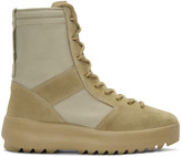 Yeezy Taupe Military Boots