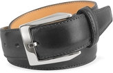Pakerson Men's Black Hand Painted Italian Leather Belt