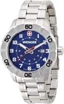 Wenger 01.0851.103 - Men's Watch, Stainless Steel, Silver Color