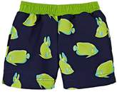 Florence Eiseman ANGELFISH-PRINT SWIM TRUNKS