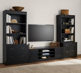 Pottery Barn Reynolds TV Stand Media Suite with Open Towers