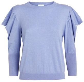 MISA Guthrie Puff-Sleeved Top
