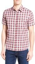 Fjäll Räven Men's 'Sarek' Short Sleeve Sport Shirt