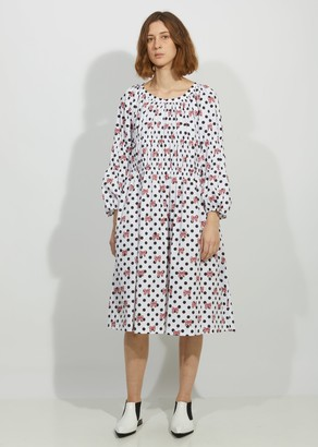 Comme des Garcons Cotton Poplin Disney Print Dress