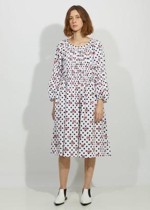 COMME DES GARÇONS GIRL Cotton Poplin Disney Print Dress