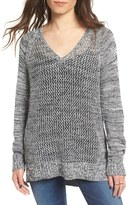 Roxy Open Knit Cotton Pullover