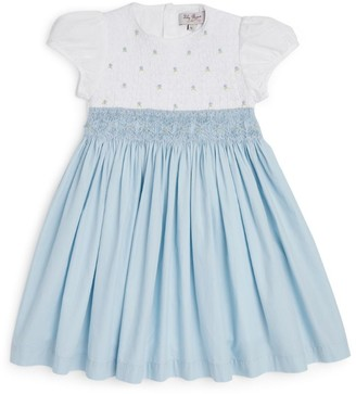 Trotters Rose Smocked Dress (2-11 Years)