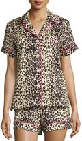 BedHead Wild Thing Printed Shorty Pajama Set, Leopard, Plus Size