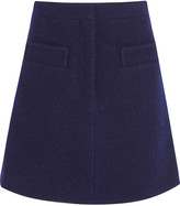 Carven Bouclé mini skirt