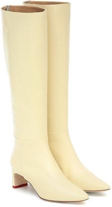 AEYDĒ Sidney leather knee-high boots