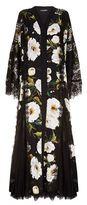 Dolce & Gabbana Floral Lace Abaya