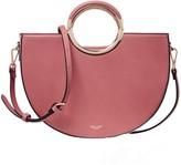 Elodie K Rose Half Circle Multi Compartment Shoulder Bag