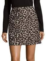 Sanctuary Leopard Print Mini Skirt
