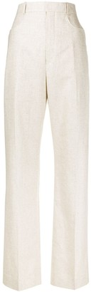 Jacquemus Sauge high-waisted trousers