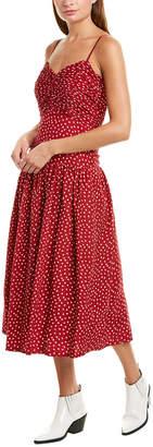Rebecca Taylor Heart Tank Silk Dress