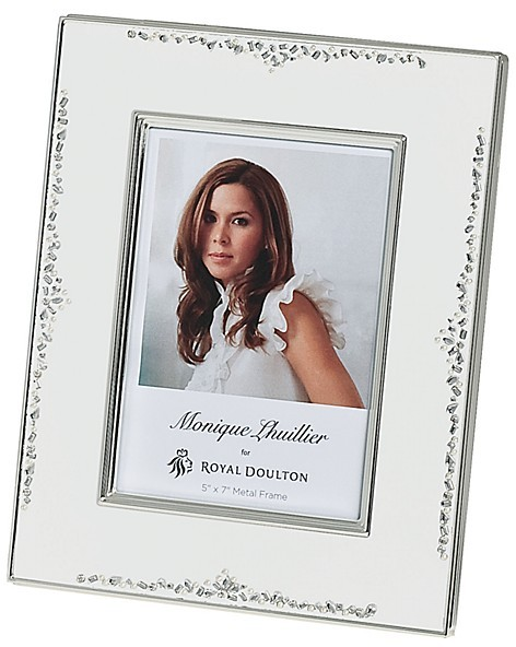 "Monique Lhuillier Waterford Modern Love Frame, 5"" x 7"""