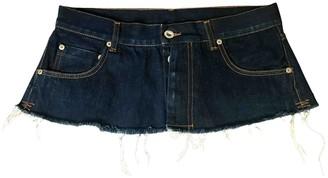 Unravel Project Blue Denim - Jeans Skirts