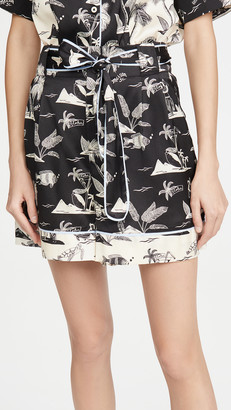Scotch & Soda Printed Shorts