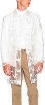 Thom Browne Hector Print Rain Coat
