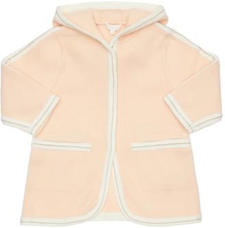 Chloé Cotton & Wool Knit Coat