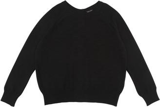 Lowie Black Cashmere Button Back Jumper - S - Black