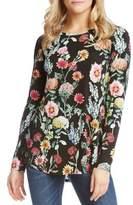 Karen Kane Floral Long-Sleeve Shirt