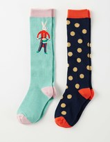Boden 2 Pack Festive Socks