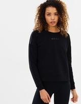 DKNY Reflective Logo Cropped Pullover