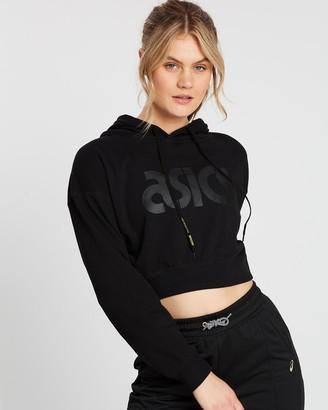 Asics Ft Big Logo Pull Over Hoodie - Women's