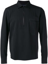 Lanvin zipped collar shirt jacket - men - Virgin Wool - 39