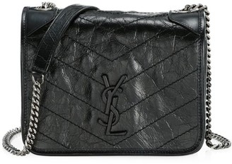 Saint Laurent Niki Leather Crossbody Bag