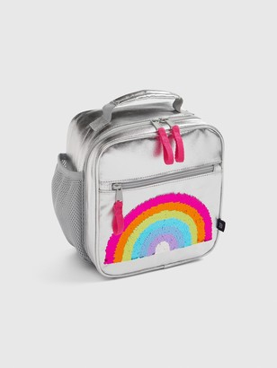 Gap Kids Flippy Sequin Rainbow Lunchbox