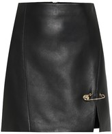 Versace Leather miniskirt